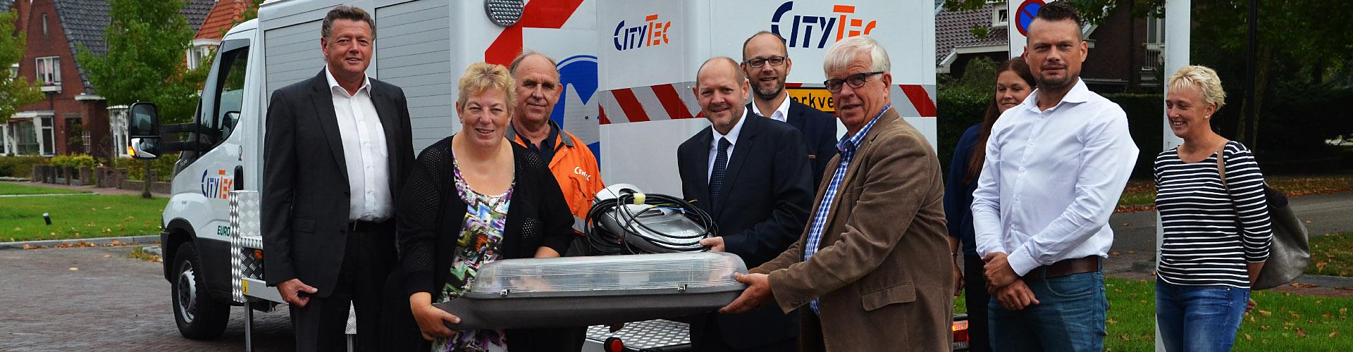 Opening renovatieproject openbare verlichting in Dongeradeel ...