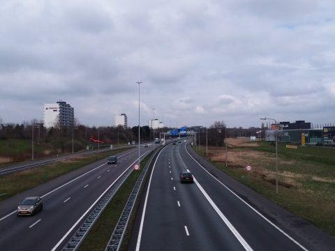 A27 bij Breda