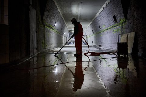 Maastunnel renovatie. Foto: Jan Groen / gemeente Rotterdam