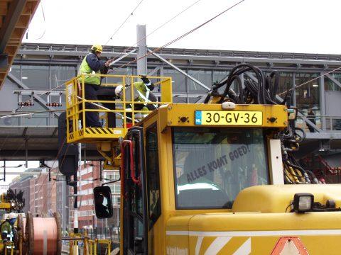 Werkzaamheden station Den Bosch