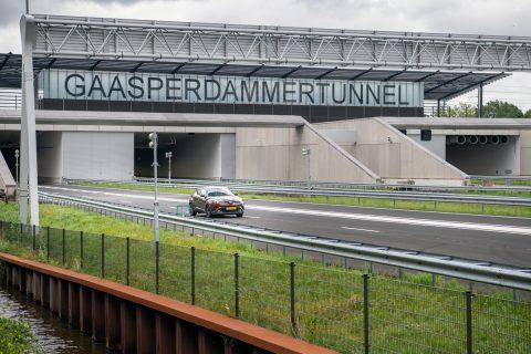 Gaasperdammertunnel. Foto: Rijkswaterstaat