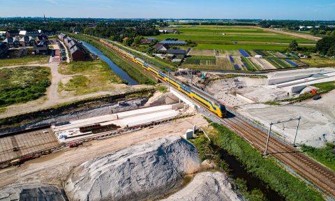 Noordelijke Randweg Voorhout, foto gemeente Teylingen