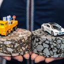 Epoxy-asfalt en regulier asfalt