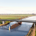 Biocomposiet brug Friesland. Foto: provincie Friesland