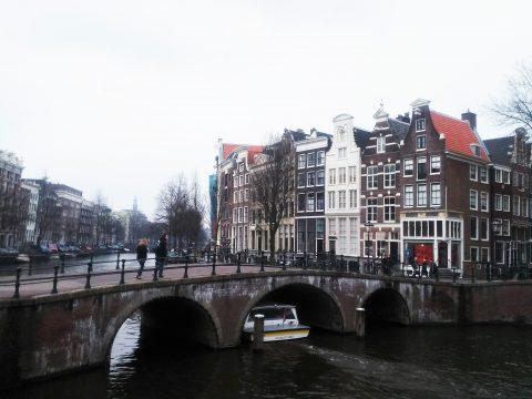 Brug Amsterdam centrum