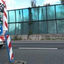 Pijlwagen bij wegwerkzaamheden Dordrecht