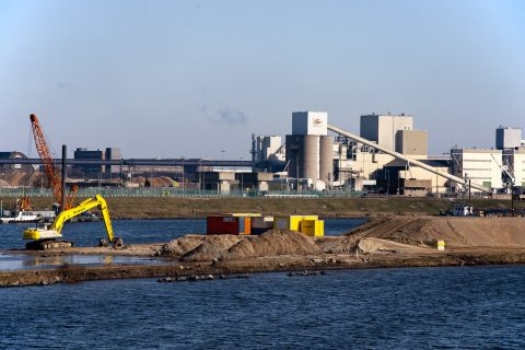 Waterbouw zeesluis IJmuiden - Ivo Ketelaar Fotografie