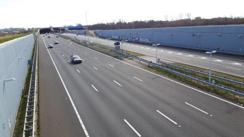 A4 Ketheltunnel, snelweg