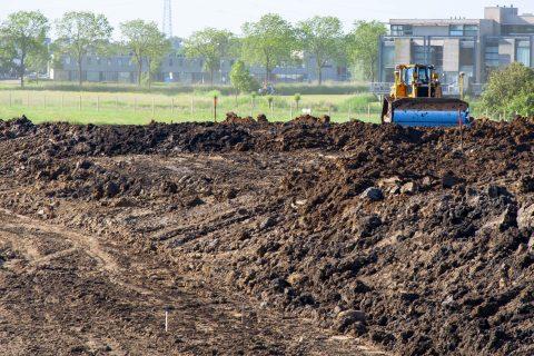 Grondverzet bulldozer - Ivo Ketelaar Fotografie