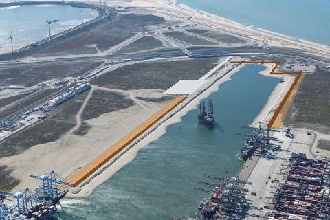Kades Amaliahaven. Foto: Havenbedrijf Rotterdam
