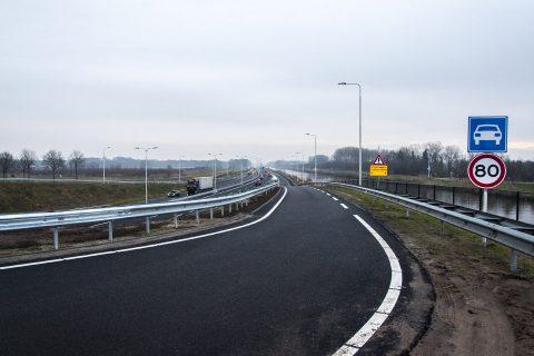 Provinciale weg N279. Foto: Ivo Ketelaar Fotografie