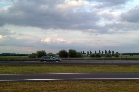 Snelweg vangrails. Foto: Ivo Ketelaar Fotografie