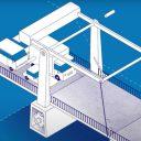 Cruquiusbrug. Afbeelding: provincie Noord-Holland