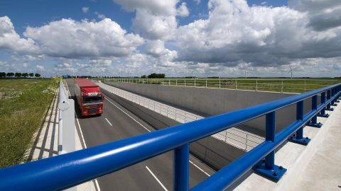 Viaduct Swifterringweg. Foto: provincie Flevoland