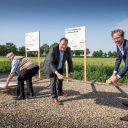 Starthandeling aanpak N395. Foto: provincie Noord-Brabant