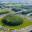 Knooppunt A1 A30 bij Barneveld. Foto Ruben Meijerink / APA FOTO