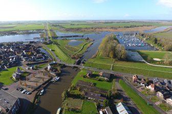 Foto oude zeedijk Zoutkamp. Foto: Waterschap Noorderzijlvest