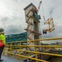 Nieuwe kabeltrommel Hollandsche IJsselkering. Foto: Hollandia Services