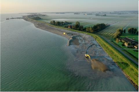 Markermeerdijken. Foto: Hoogheemraadschap Hollands Noorderkwartier