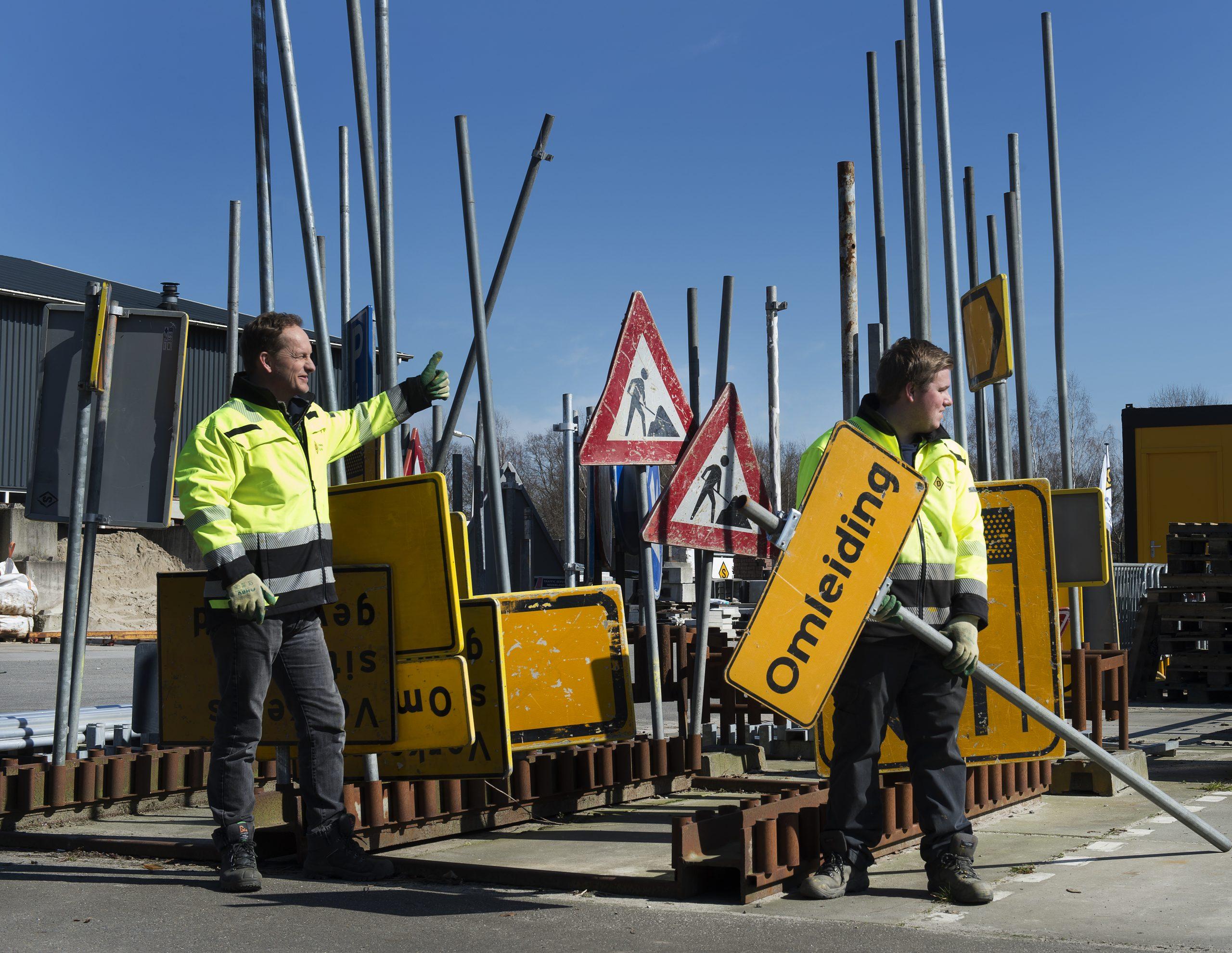 Dynamisch op Weg. Foto: Sallandse Wegenbouw