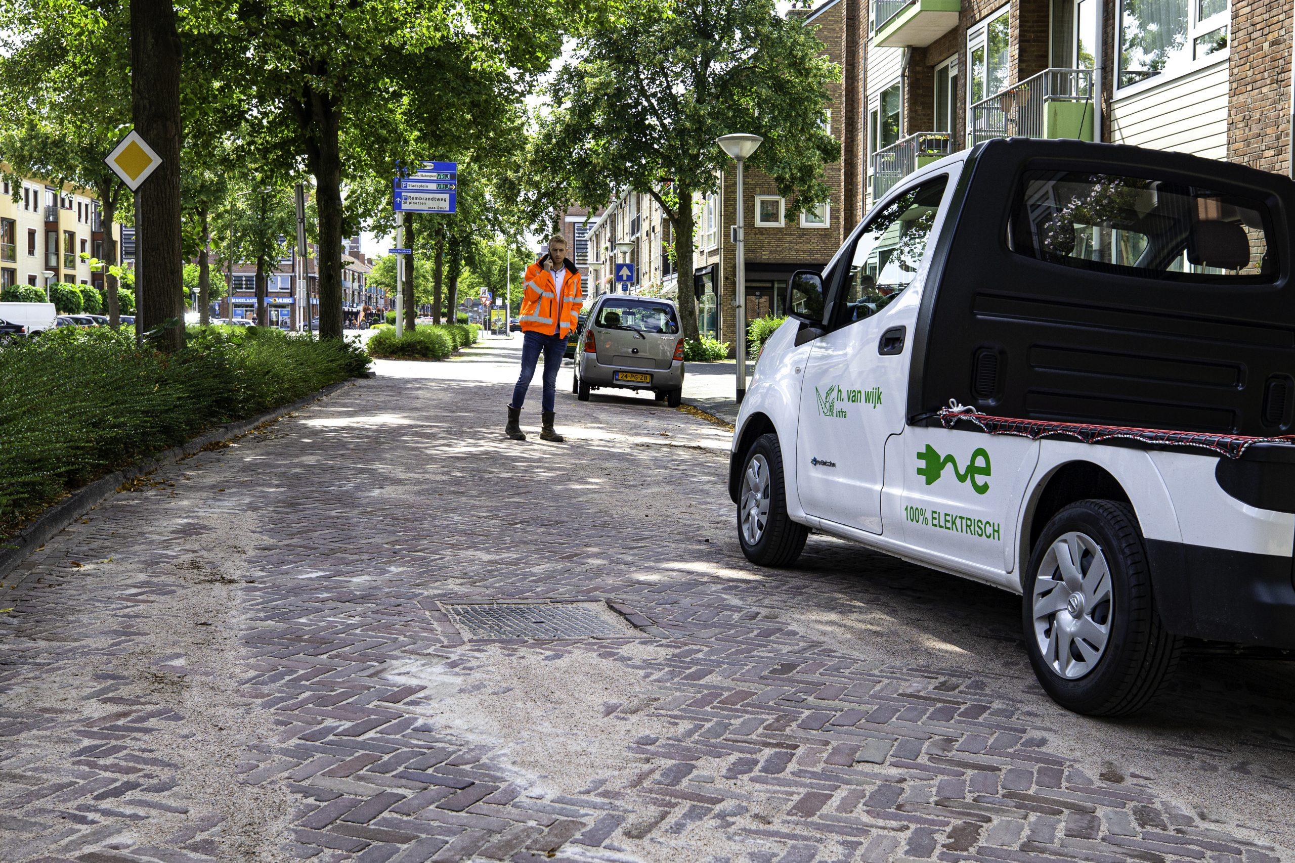 Elektrisch voertuig H. van Wijk