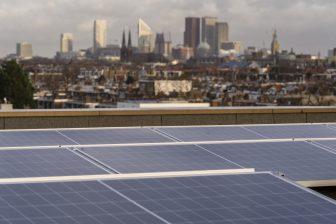 Zon op dak. Foto: provincie Zuid-Holland