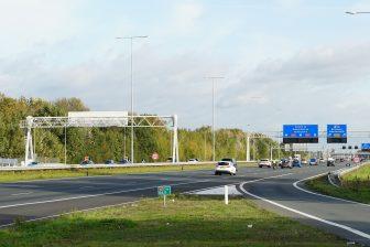 A27 bij Utrecht. Foto: iStock / Dafinchi