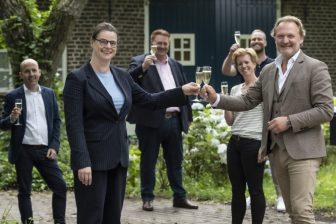 Ondertekening slimme infra SBD Helmond. Foto: gemeente Helmond