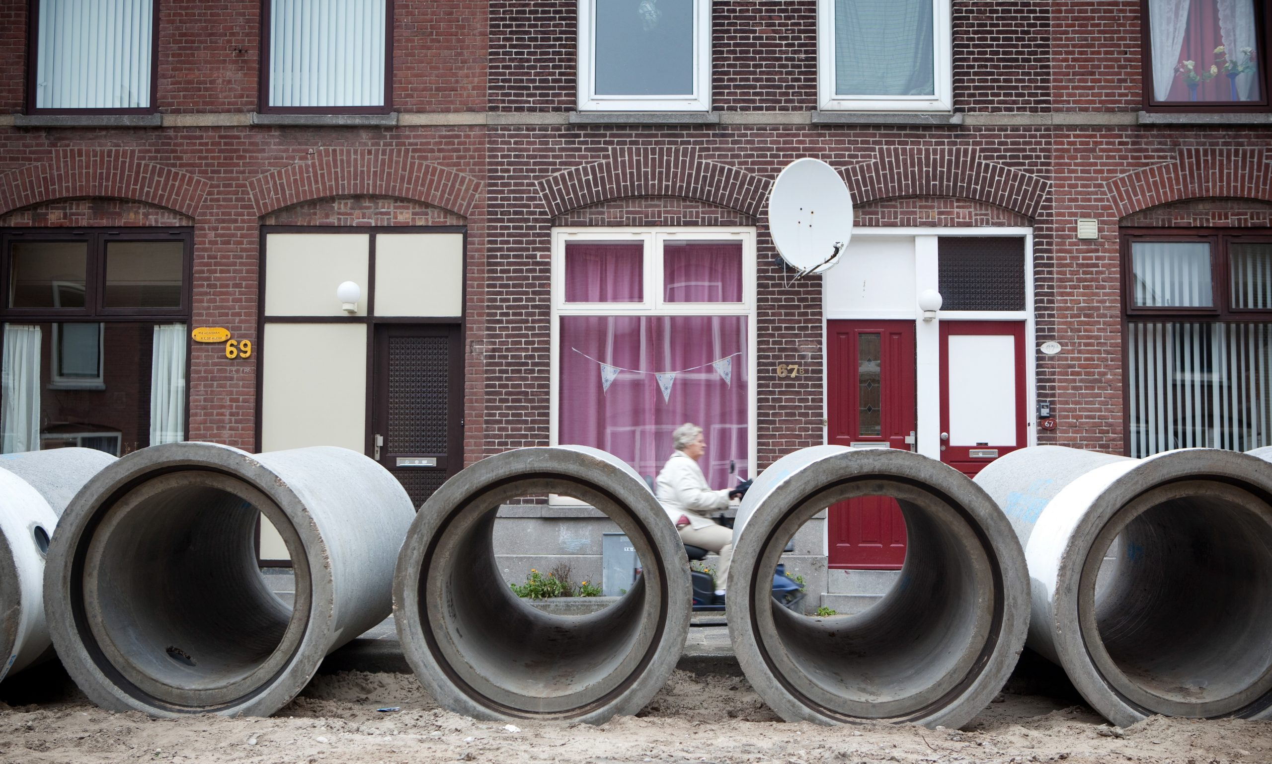 Riolering Rotterdam. Foto: gemeente Rotterdam