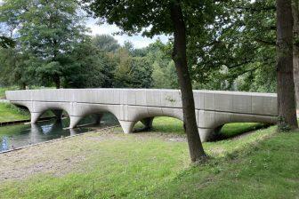 3D-geprinte brug Nijmegen. Foto: BAM
