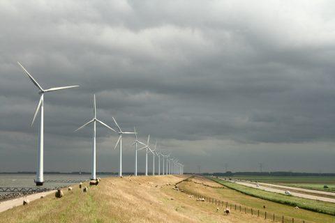 Windpark IJsselmeer. Foto: Henk Kouwenhoven / Vattenfall