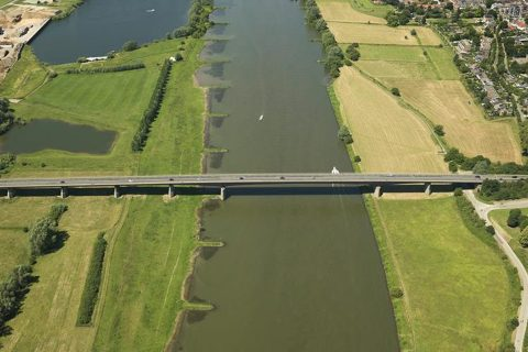 Rijnbrug. Foto: provincie Gelderland